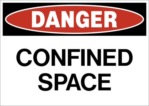 Danger - Confined Space B