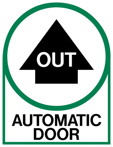 Out Automatic Door