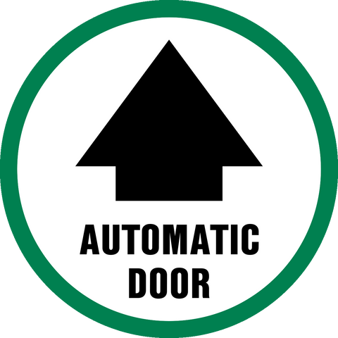 Automatic Door with arrow