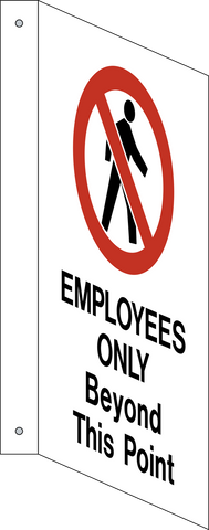 Employees Only - L-Shape