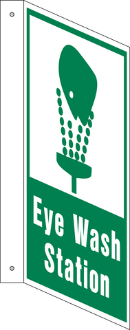 Eye Wash Station - L-Shape