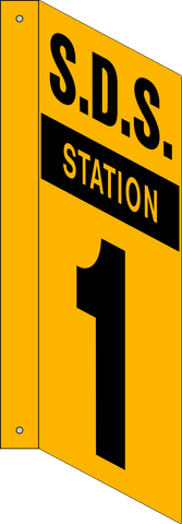 MSDS Station - L-Shape