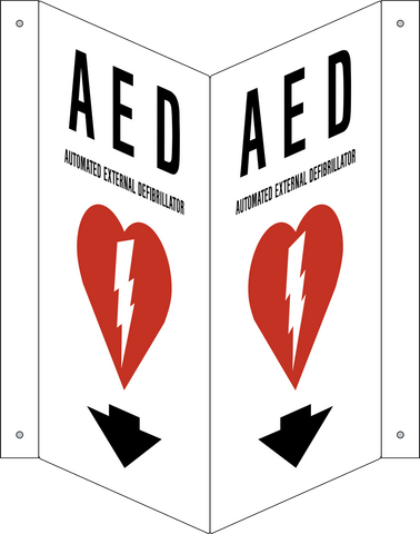 AED - Arrow Down V-Shape