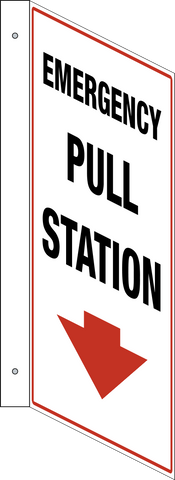 Emergency Pull Station - L-Shape