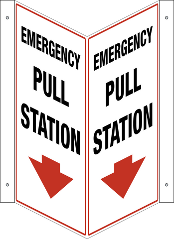 Emergency Pull Station - V-Shape