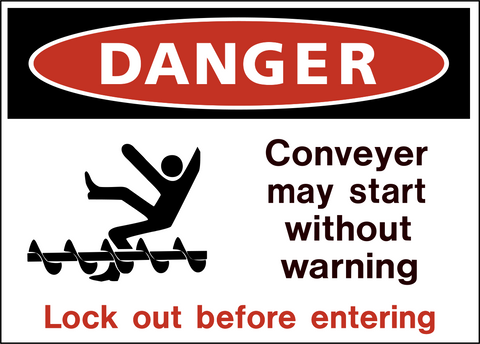 Danger - Conveyor