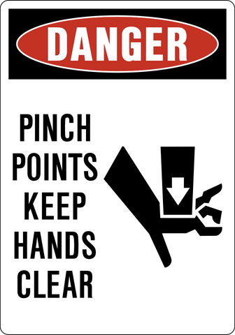 Danger - Pinch Point