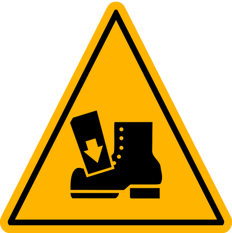 Caution - Drop Hazard