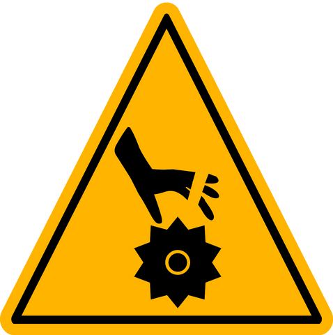 Caution - Moving Parts