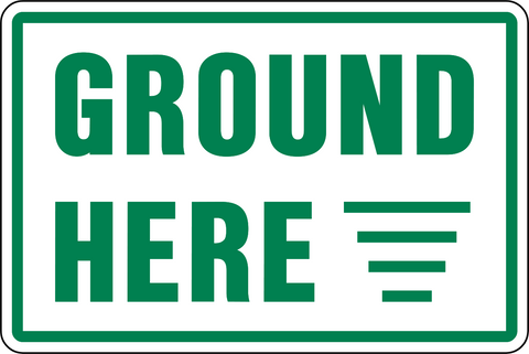 Electrical - Ground Here