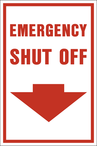 Emergency Shut Off