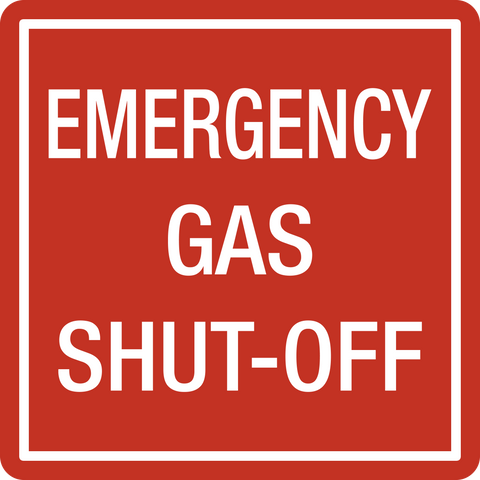 Emergency Gas Shut Off