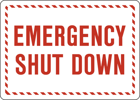 Emergency Shut Down