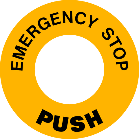 Emergency Stop Push