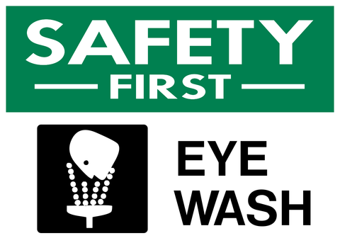 Eye Wash - Safety First