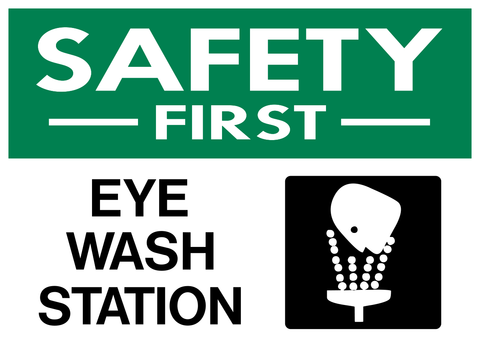 Eye Wash Station - Safety First-A