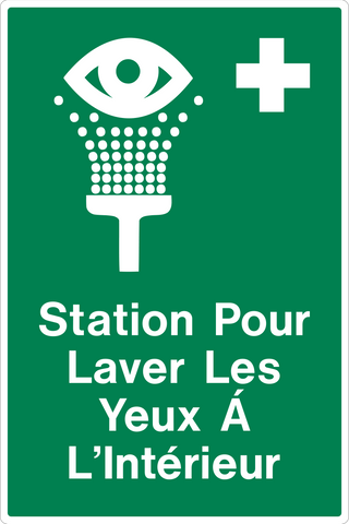 Eye Wash Station Inside French