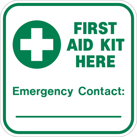First Aid Kit Here
