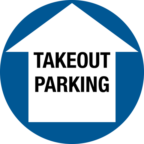 COVID-19 PREVENT THE SPREAD - Takeout Parking