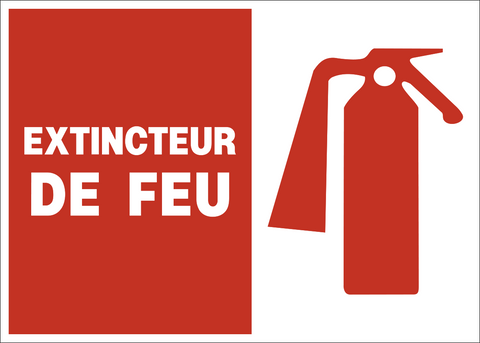 Fire Extinguisher French