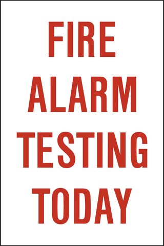 Fire Alarm Testing Today