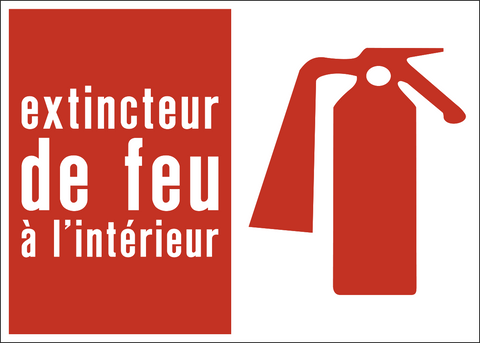 Fire Extinguisher Inside French