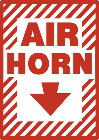 Slow Moving Vehicle Sign >> Air Horn – Western Safety Sign