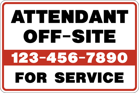 Attendant Off-Site