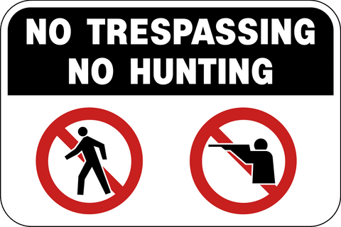 No Trespassing or Hunting