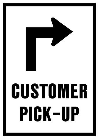 Customer Pick-up with Arrow