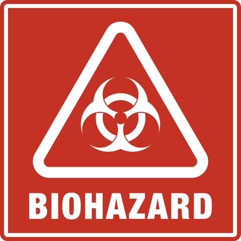 Biohazard and Radiation Signs