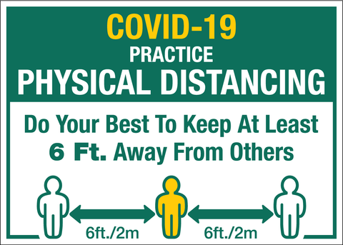 COVID-19 Prevent the Spread - Physical Distance
