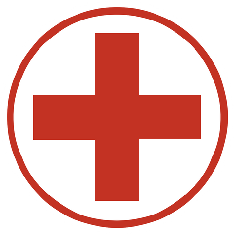 First Aid Symbol Western Safety Sign