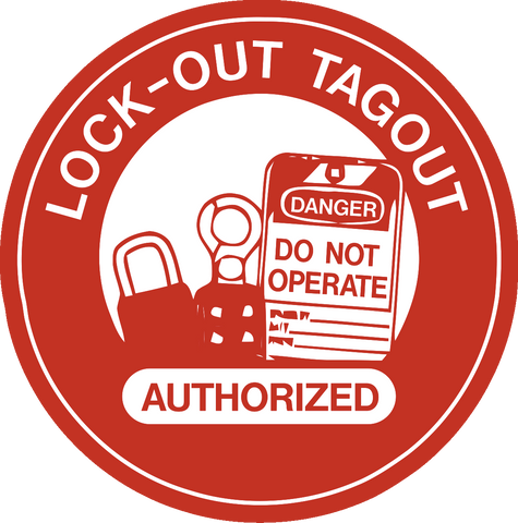 Lockout Tag out Authorized