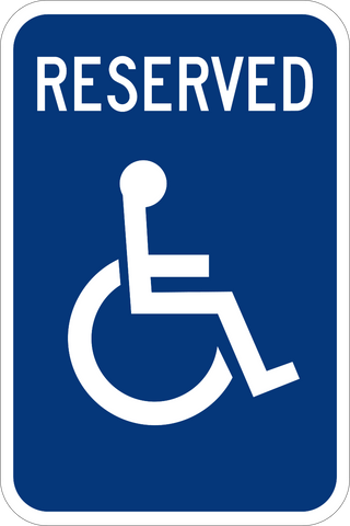 HP-1 - Handicap Reserved