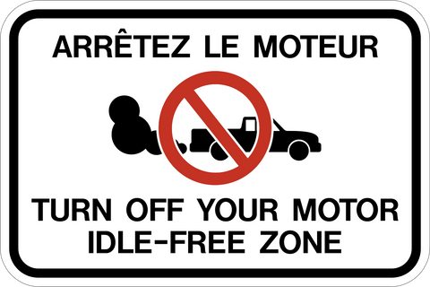 Idle-Free Zone Bilingual