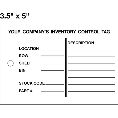 Inventory Control Tag