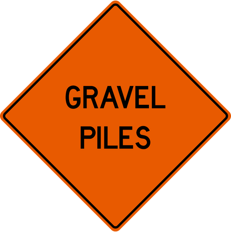 MC-37 Gravel Piles
