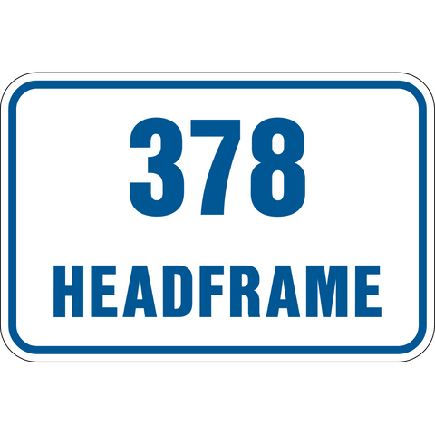 Headframe level number
