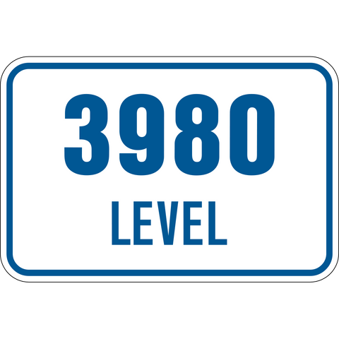 Mine level number
