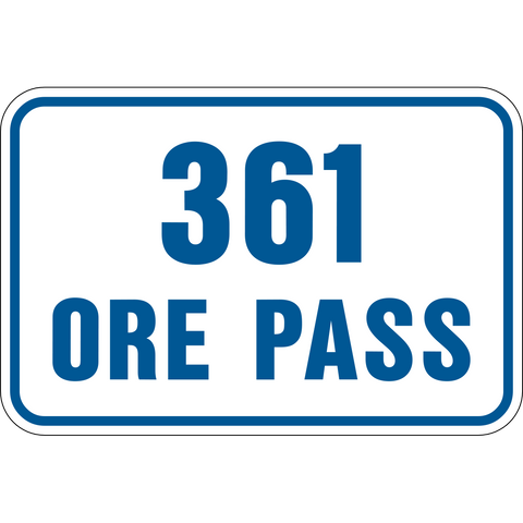 Ore Pass level number