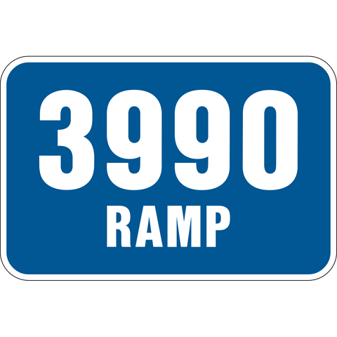 Ramp level number