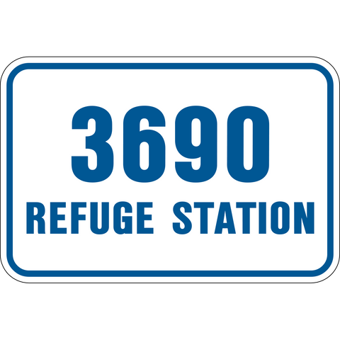 Refuge Station level number