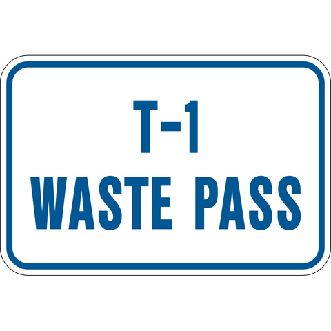 Waste Pass level number