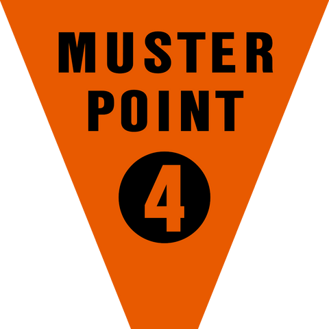 Muster Point Numbered