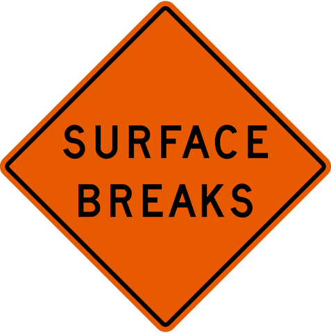MW-87 Surface Breaks