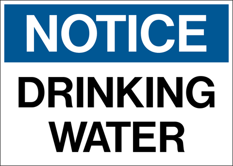 Notice - Drinking Water