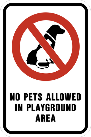 pet signs tagged filter by keyword no pets western safety sign