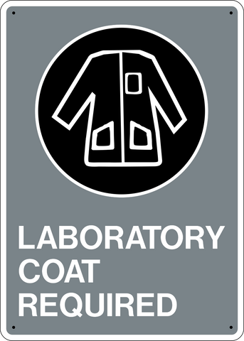 Laboratory Coat Required
