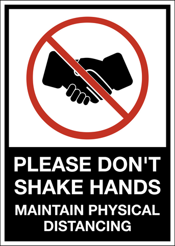 Don't Shake Hands